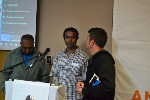 BMC IT specialists - Ashwen Singh and Ushn Reddy